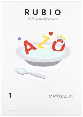 Cuadernos Rubio: Mayusculas 1 por enrique_rubio_polo