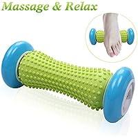 Rouleau de massage de pied pour la fasciite plantaire Soulagement de la douleur musculaire Outil de thérapie de massage pour le talon et le soulagement de la douleur de la voûte plantaire