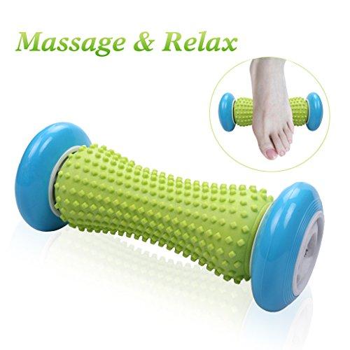 Fuß-Massage-Roller für Plantar Fasciitis Muskel-Schmerzlinderung Massage-Tool Therapie-Set für Ferse und Fuß Arch Schmerzlinderung Trigger Point Release Akupressur Reflexzonenmassage Körper