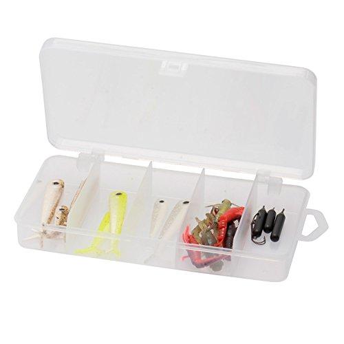 Savage Gear Dropshot Pro Pack Kit - 16 Gummiköder + 3 Haken + 3 Bleie zum Spinnfischen auf Barsch & Zander, Angelset für Barsch