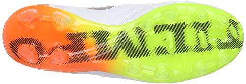 Nike Tiempo Legend Vi (Fg), Chaussures de Football Compétition Homme Blanc - Weiß (WHITE/BLACK-TOTAL ORANGE-VOLT_108)