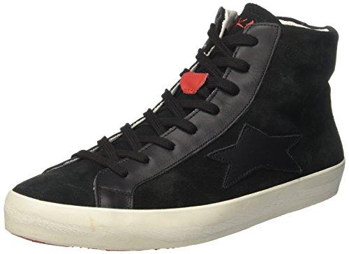 Ishikawa 1232, Sneaker a Collo Alto Unisex-Adulto Nero