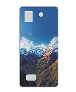 Techno Gadgets Back Cover for Lava Iris X5