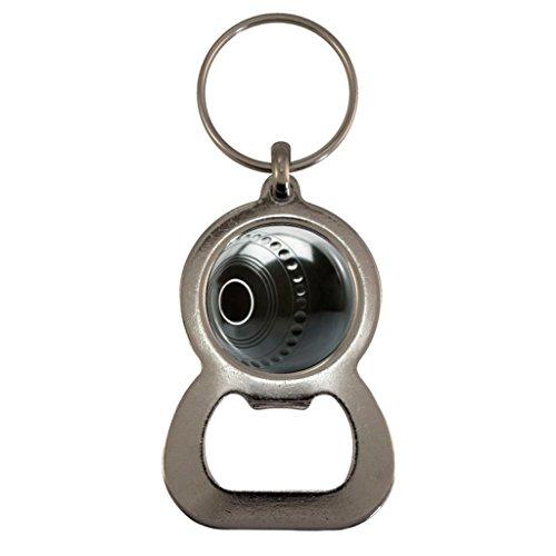 Boules Kugel Metall Flaschenöffner Schlüsselanhänger in Geschenk-Box