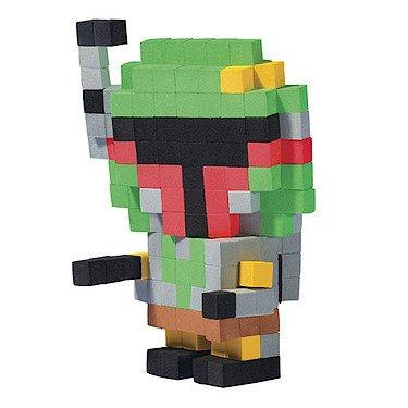 Pixel Pops – Star Wars – Boba Fett – Personnage Pixel 3D à Construire