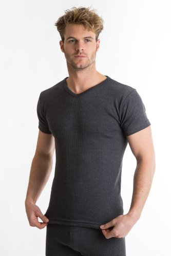 RP Collections® Mens Thermal Underwear V-Neck T-Shirt