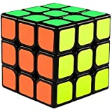 The Cube 3x3 Speed Magic Cube/ 3D Puzzle Game by B.Great/ Classic 3x3x3 Magic Speed Cube / Best Size 5.6*5.6cm Brain Teasers/ Smooth Twist / Vibrant Colours