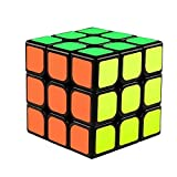 The Cube 3x3x3 Speed Cube/ 3D Puzzle Game by Funlovers/ Classic 3x3 Magic Speed Cube / Best Size 5.6*5.6cm Brain Teasers/ Smooth Twist with Original Magic Cube Colours