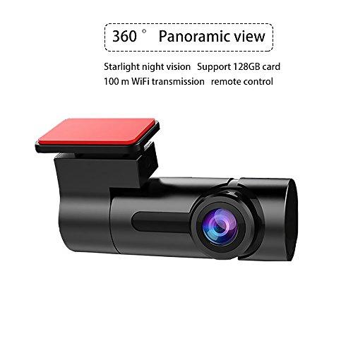 umsky G6Full HD 1080p Nachtsicht 360Grad Panorama Verstecken Driving Recorder Unterstützung für Wireless Handy Überwachung, WDR Armaturenbrett Kamera DVR camcorder-g-sensor Parking Sicherheit und Loop Recording