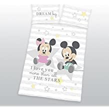 Disney Minnie Mickey Mouse Baby Cama 40x 60cm + 100x 135cm