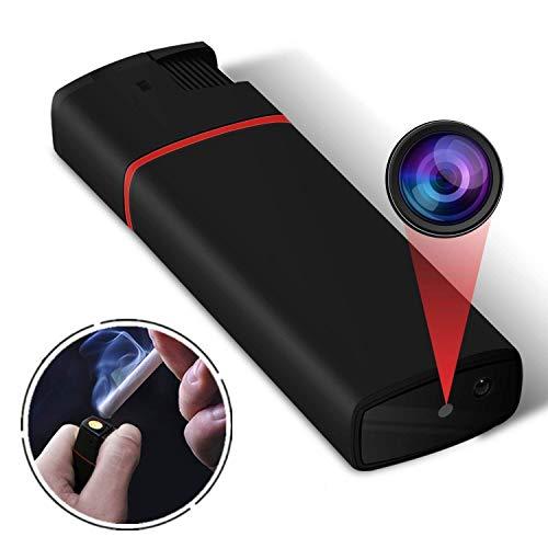 Mini Kamera Überwachungskamera 1080P HD Tiny Nanny Kleine Kamera Videorecorder mit Infrarot Nachtsicht(SD-Karte Nicht im Lieferumfang enthalten)