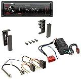 Kenwood KMM-BT205 USB Bluetooth MP3 AUX Autoradio für Audi A2 A3 8L A6 C5 A4 B5 Bose Aktivsystem Mini ISO