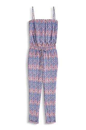 ESPRIT Damen Jumpsuits 056EE1L009-mit Allover-Druck, Mehrfarbig (Grey Blue 420), 38 - 3