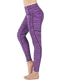 Sugar Pocket Legging de Sport Femme Stretch Yoga Jogging Fitness Running  Taille Haute avec Poche de71e51e79c