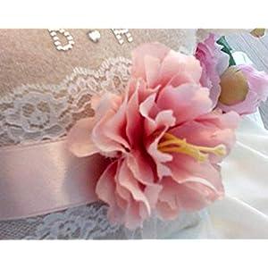 Ringkissen Ringträgerkissen Vintage für die Eheringe Ringe Kissen Hochzeit