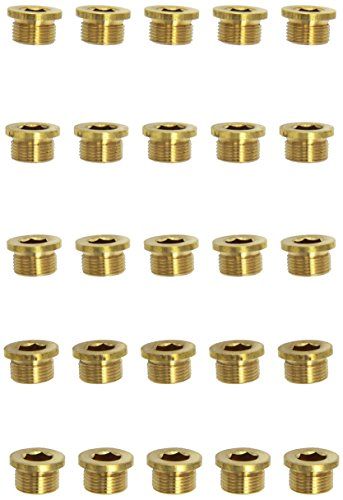 KS tools ölablassschraube innen6kant, 12 mm-m20 x 1,5 x 12 mm-pack de 25 pièces, 430.2034