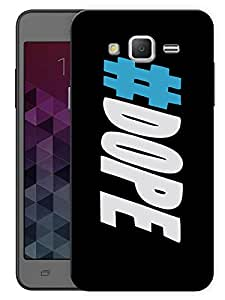 """Humor Gang Dope Hash Tag Printed Designer Mobile Back Cover For """"Samsung Galaxy On5"""" (3D, Matte Finish, Premium Quality, Protective Snap On Slim Hard Phone Case, Multi Color)"""