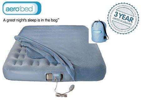 AeroBed Luftbett Gästebett Premier Mattress King aufblasbar mit Pumpe und Fernbedienung - Gästebett Aerobed