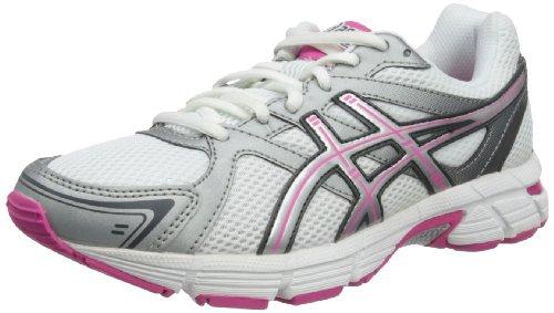 Asics  Gel Pursuit W, Chaussures de  Running femme - Blanc - White/Silver/Neon Pink, 39 EU