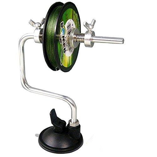 Angelleinen Spule - von Ultimate Angling®- JETZT Mit Weiterentwickeltem Saugnapf & Spulen Kontrolle | Nicht geeignet für Jumbo Spulen (10 Lb Spool)
