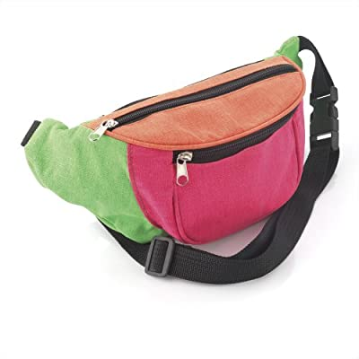 Imprimé Néon Multicolore Sac Banane/Fanny Pack - Festivals/Club Wear/vacances