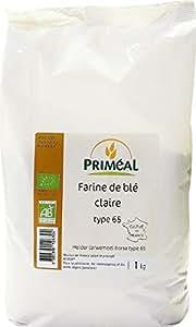 PRIMEAL - Farine de blé claire - 1 kg
