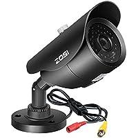 ZOSI 1.0MP HD 720p Quadbrid 4-in-1 HD-CVI/TVI/AHD/960H Analog CVBS Caméra de Surveillance Intérieur/Extérieur 42pcs LEDs 40 M Vision Nocturne pour Système de Surveillance CCTV
