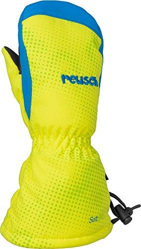 Reusch Baby Handschuhe Maxi R-TEX XT Fäustling neon yellow/Brilliant blue, One Size