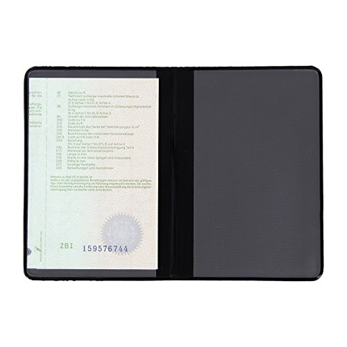 Identificación carpeta ausweis móvil-Porta Documentos DNI funda ausweis Monedero ausweis papeles ausweis...