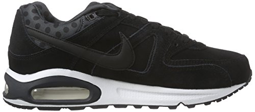 Nike Air Max Command Prm, Chaussures de Running Entrainement Homme, Bleu, 43 EU Multicolore - Negro / Blanco (Black / Black-Anthracite-White)