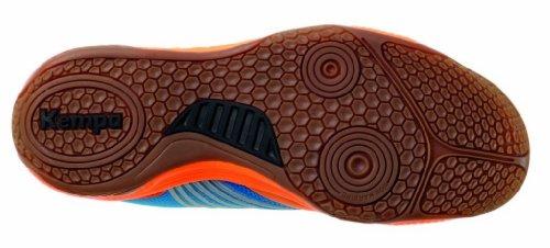 Kempa Thunderstorm - Chaussures De Basket-ball ,, Taille Bleu (bleu Kempa / Orange Fluo / Noir)