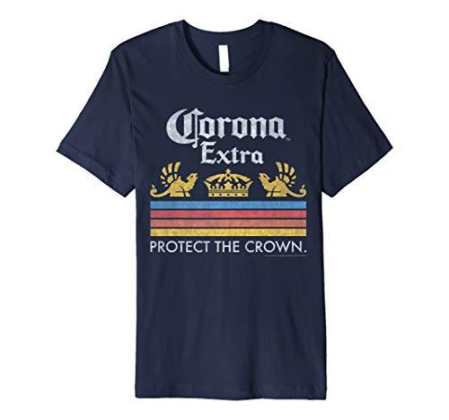 Officially Licensed Corona Short Sleeve Adult T-Shirt - Anvil Short Sleeve T-shirt
