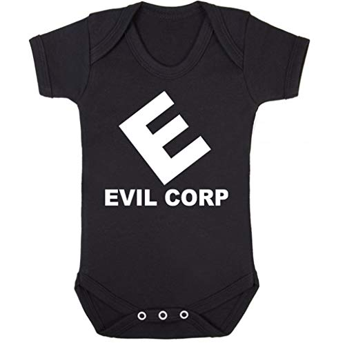 Cloud City 7 Evil Corp Logo Mr Robot Baby Grow Short ()