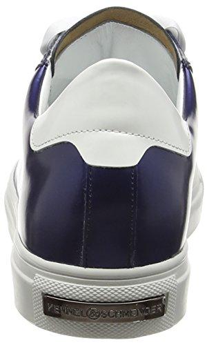 Kennel und Schmenger Schuhmanufaktur  Basket, Sneakers Basses femme Multicolore - Mehrfarbig (royal/bianco S.weiss 651)