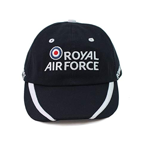 729a293f08b Royal Air Force Kids Embroidered Cap - Official RAF Merchandise Blue