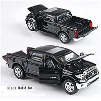 QRFDIAN 1:32 Toyota Tantu Modelo de Coche de aleación de Sonido y luz camioneta