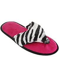 Chaussons style tongs - Femme