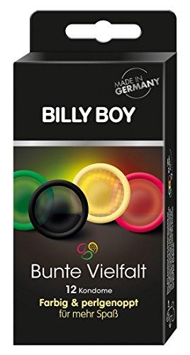 Billy Boy Bunte Vielfalt - 12er Mix-Pack Kondome
