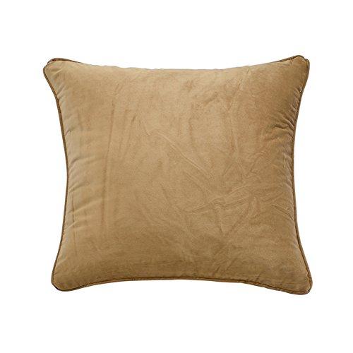 Semplice cuscino in pile tinta unita/ moderno peluche cuscino/ divano cuscini/ indietro cuscino letto-M 55x55cm(22x22inch)VersionA