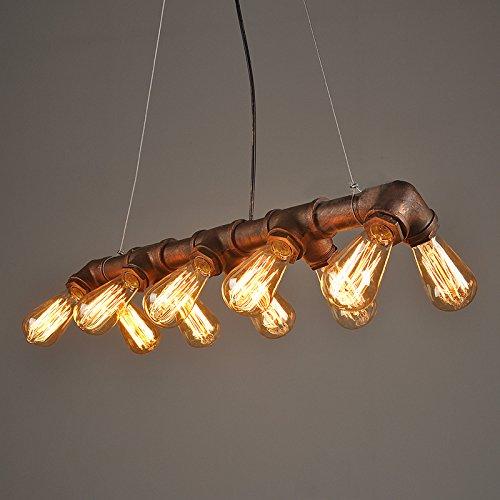 Lightess Lámpara Industrial Lámpara Vintage Lámpara Retro de Techo