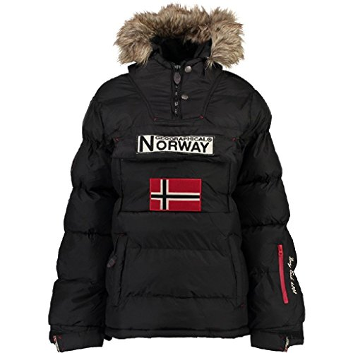 Geographical Norway Chaqueta Mujer Anson Negro 2