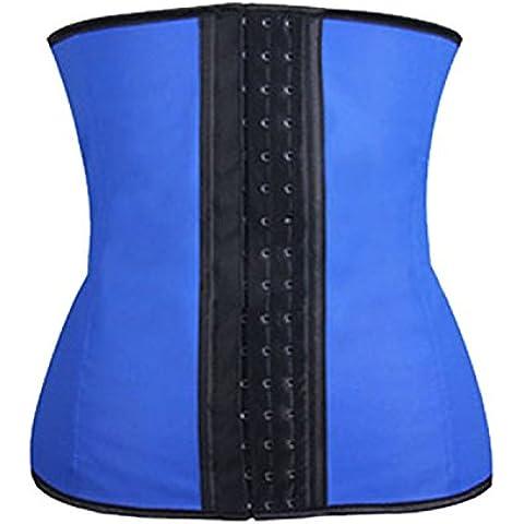 Abdomen cintura fina nueve acero Palacio cuerpo corsé ropa medias de nylon , blue nine bone , l