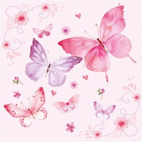 gentle-butterflies-rosa-pack-of-20-paper-napkins-33x33cm-3ply-butterflies-decoupage-shabby-chic