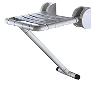 Di Vapor (R) Duschklappsitz mit Bein für ältere und Behinderte | ABS STAINLE