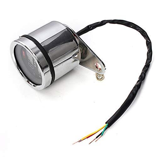 2 in 1 Motorrad LED Digital Tachometer RPM Meter Universal Kraftstoff Hebel Anzeige Durable 12 V Motorrad Zubehör