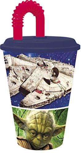 Verre Avec Paille 430ml Anakin Skywalker Star Wars