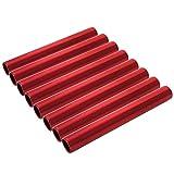 GOGO Bâtons de relais en aluminium pour les étudiants et le bureau Clark 2 Packs Rouge