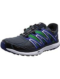 Salomon X-Scream - Zapatillas trail running para hombre - gris/azul 2014
