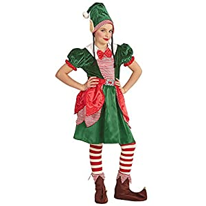 WIDMANN Niños Disfraz Elf Santas Kleine helferin