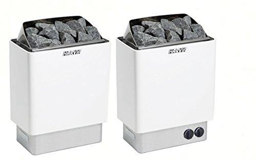 Harvia SAUNAÖFEN KIP Stahl 4.5 kW   6.0 kW (Steuergerät: Benötigt seperaten Steuergerät, 6.0 kW)